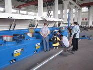 2.0mm 22 - 132 Straight Line Wire Drawing Machine Wire Drawing Plant PLC Control